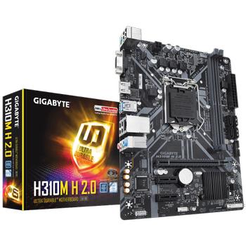 Gigabyte H310M H 2.0 Intel 8-9.Nesil DDR4 Vga-Hdmi mATX Anakart