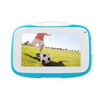 """Everest EVERPAD SC-735 Happy Kids Wifi-Çift Kamera 2500mAh 7""""LCD 1GB 16GB Andrid Mavi Tablet"""