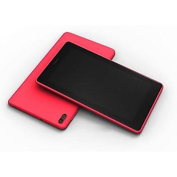 """Everest EVERPAD SC-740 Venüs7 Wifi-Çift Kamera 2500mAh 7""""LCD 1GB 16GB Android Kýrmýzý Tablet"""