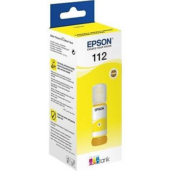 Epson T06C44 (112) Yellow Sarý Þiþe Mürekkep C13T06C44A