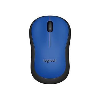 Logitech 910-004879 M220 Silent Blue Mavi Kablosuz Mouse
