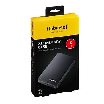 """Intenso 2TB USB 3.0 Taþýnabilir  2,5"""" Harici Harddisk Siyah"""