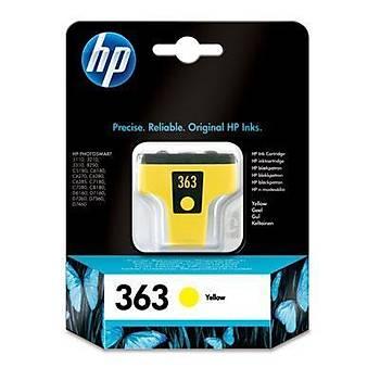 HP 363 Yellow Sarý Kartuþ C8773EE