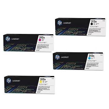 HP 312A Cyan Mavi 2.700 Sayfa Toner CF381A