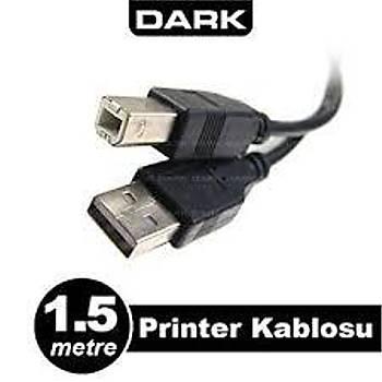 Dark 1.5m USB 2.0 Kablosu DK CB USB2PRNL150
