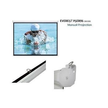 Everest PSEB96 Manuel 180x180 Storlu Projeksiyon Perdesi