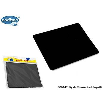 Addison 300142  Siyah Mouse Pad Poþetli