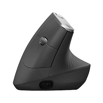 Logitech 910-005448 MX Vertical Advanced Ergonomik Kablosuz Mouse