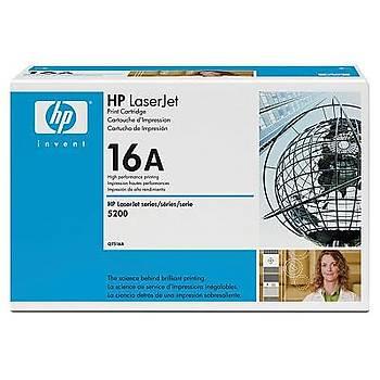 HP 16A Black Siyah 12.000 Sayfa Toner Q7516A