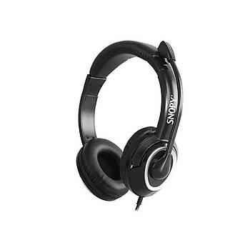Snopy SN-X4 X-ZOOM Siyah PC&Telefon Mikrofonlu Kulaklýk