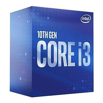 Intel Core i3 10105F 3.70GHz 6MB Önbellek 4 Çekirdek 1200 14nm Box Ýþlemci NOVGA (Fanlý)