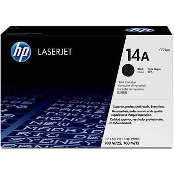 HP 14A Black Siyah 10.000 Sayfa Toner CF214A