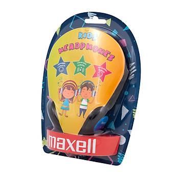 Maxell Kids Headphones Mavi Kulaklýk Baþ Üstü