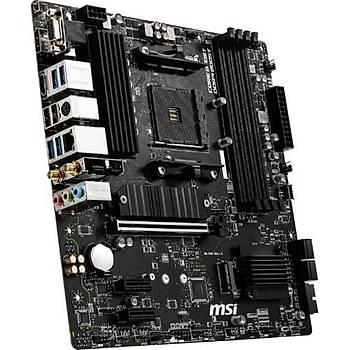 MSI B550M Pro-VDH Wi-Fi Am4 Ddr4 4400(Oc) Hdmý Dvg Vga M.2 Usb3.2 Wýfý Matx Anakart