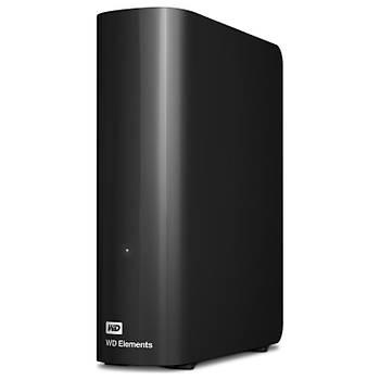 "Wd 8TB Elements 3.5"" USB 3.0 WDBWLG0080HBK-EESN Taþýnabilir Disk"