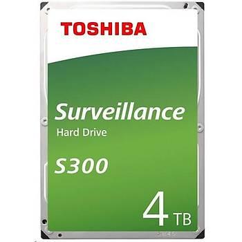 Toshiba 4TB S300 3.5 5400rpm (HDWT840UZSVA) Harddisk