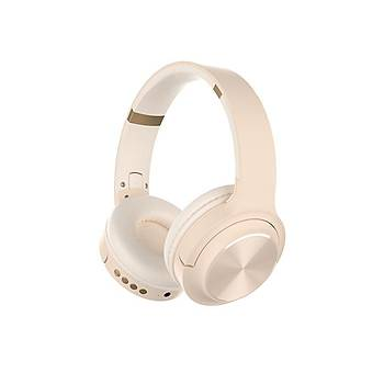 Hytech HY-XBK20 ARTY Beyaz TF Kart Özellikli Bluetooth Kulaklýk
