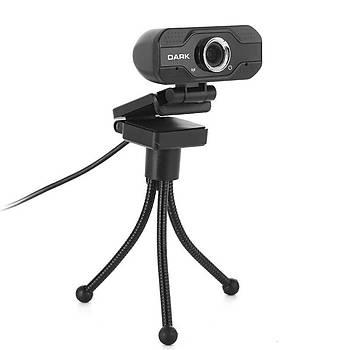 Dark WCAM21 HQ 1080P USB Web Kamera & Tiripod