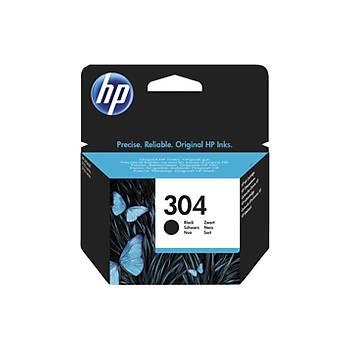 HP 304 Black Siyah Kartuþ N9K06AE