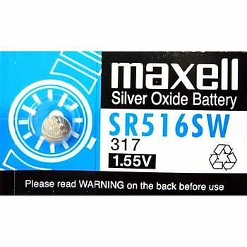 Maxell Sr-516Sw Lityum 10lu Paket Pil