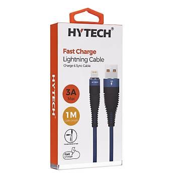 Hytech HY-X325 3A iPhone Lightning 1M, Lacivert Þarj Kablosu