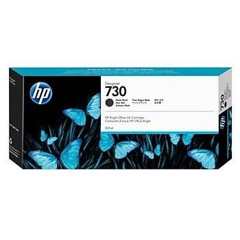 HP 730 Matte Black Mat Siyah 300 Ml Plotter Kartuþu P2V71A