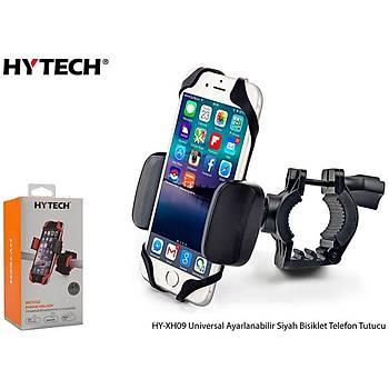 Hytech HY-XH09 Universal Ayarlanabilir Siyah Bisiklet Telefon Tutucu