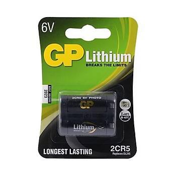 Gp 2CR5 6V Lityum Pil Fotoðrað Makinesý Pili