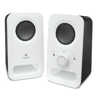 Logitech 980-000815 Z150 3W Beyaz 1+1 RMS Multimedya Stereo Hoparlör