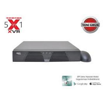 SPY Sp-7204-S1 XVR 4 Kanal Akýllý Tvý+Cvý+Ahd+Ip 1080P AnalogKayýt Cihazý Kayýt Cihazý
