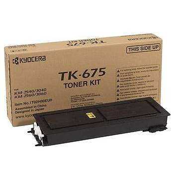 Kyocera TK-675 Orjinal Fotokopi Toneri KM-2540-2560-3040-3060 20.000 Sayfa