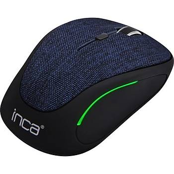 Inca IVM-300RL Kumaþ Yüzey 7 Led Wireless Mouse