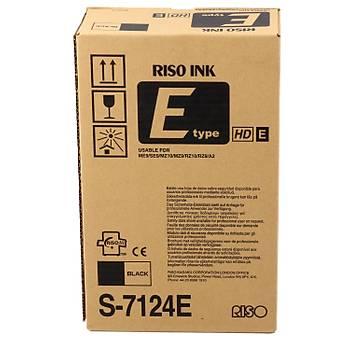 Riso S-7124 RZ 970-6870 Orjinal Mürekkep E type HD Z type HD 4841