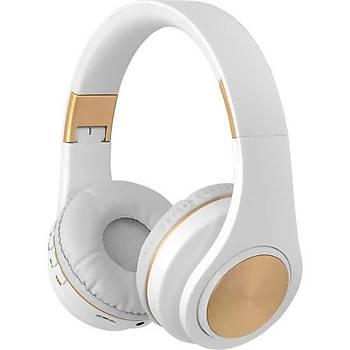 Frisby FHP-840BT Bluetooth Kulaküstü Kulaklýk Beyaz