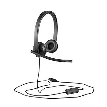 Logitech 981-000575 H570E Stereo Usb Çift Taraflý Headset Mikrofonlu Kulaklýk