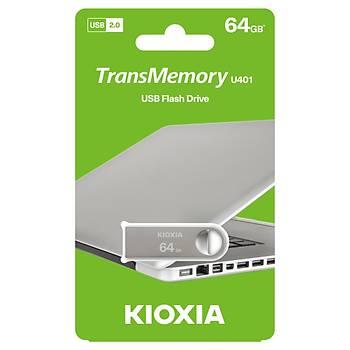 Kioxia 64GB U401 Metal USB 2.0 Bellek