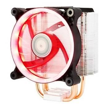 Xýgmatek EN9375 Ýntel-Amd 120mm Kýrmýzý Led Cpu Fan