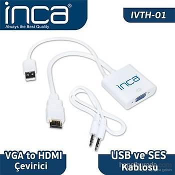 Inca IVTH-01 Vga To Hdmý Çevirici