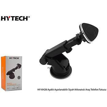 Hytech HY-XH28 Ayaklý Ayarlanabilir Siyah Mýknatýslý Telefon Tutucu