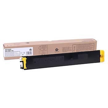 Sharp MX-23GTYA Yellow Sarý Orjinal Fotokopi Toneri MX-2010-2310-2314-3010-3111 10.000 Sayfa