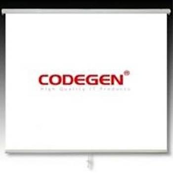 Codegen EX-30 300x225 Motorlu Uzaktan Kumandalý Projeksiyon Perdesi
