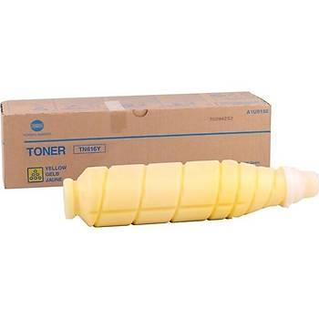 Konica Minolta TN-616Y Yellow Sarý Orjinal Fotokopi Toneri Bizhup C6000-7000