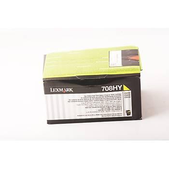 Lexmark 70C8HY0 3.000 Sayfa Yellow Sarý Toner CS310-410-510 708HY