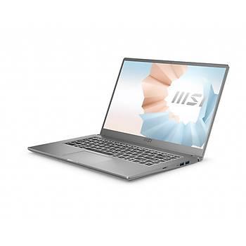 MSI NB MODERN 15 A11SBL-444XTR I5-1135G7 8GB DDR4 MX450 GDDR5 2GB 512GB SSD 15.6 FHD DOS KOYU GRI