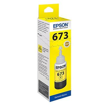 Epson T6734 Yellow Sarý Þiþe Mürekkep T67344A