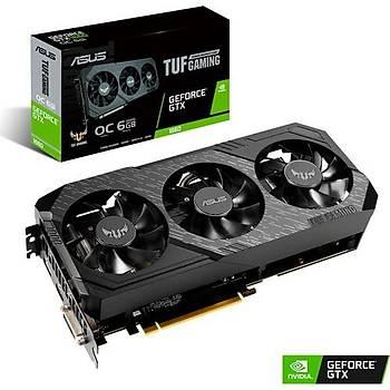 Asus TUF 3 GeForce GTX 1660 OC Gaming 6GB 192Bit GDDR6 DX(12)  (TUF 3-GTX1660-O6G-GAMING)