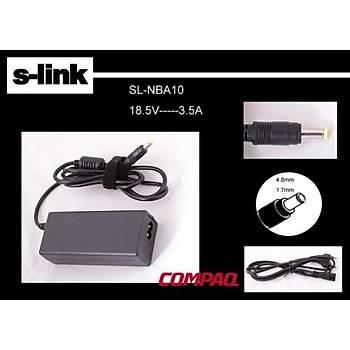 S-link SL-NBA10 18.5v 3.5a 4.8-1.7 Notebook Adaptörü