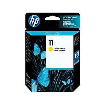HP 11 Yellow Sarý Kartuþ C4838A