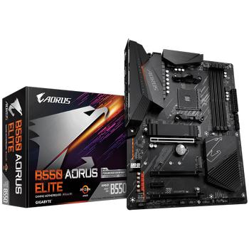 Gigabyte B550 Aorus Elite AMD B550 DDR4 M2 Dp-Hdmi mATX Anakart