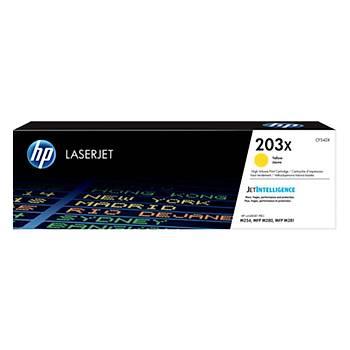 HP 203X Yellow Sarý Yüksek Kapasite 2.500 Sayfa Toner CF542X